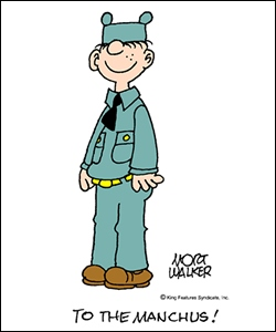 Beetle Bailey.Mascot of the Regiment
